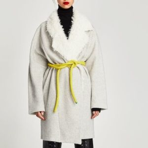 ZARA Jacket :Grey Marl, US M/EUR M